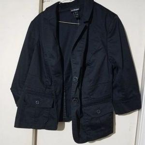 Lane Bryant black blazer jacket size 18